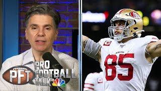 How much money does 49ers' George Kittle deserve in new deal? | Pro Football Talk | NBC Sports