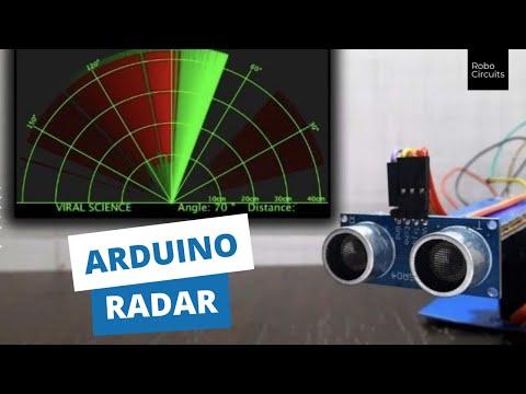 Arduino radar ultrasonic sensor range finding system arduino