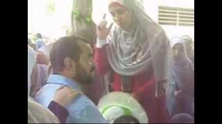 الشيخ صلاح سلطان فى مسيرة العباسية  بوس و أحضان أعمال منافية للآداب مع النساء