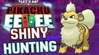 POKEMON LET'S GO SHINY HUNTING - SHINY GROWLITHE! | JasonPlaysPokemon Shiny Hunting!