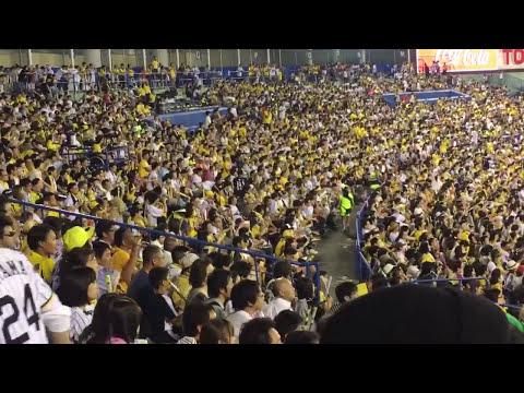 阪神ファンが山田哲人の応援!?