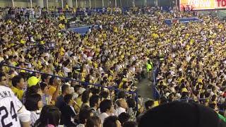 この試合3本のホームランを打っていたヤクルト山田哲人 4本目のホームラ...