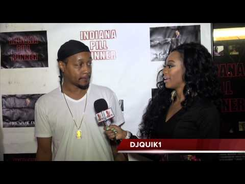 DJ QUIK Interview | Red Carpet Premiere | Indiana Pill Runner | Los Angeles