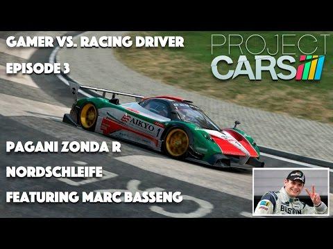 Gamer Vs Racing Driver EP. 3 Marc Basseng - Pagani Zonda R - Nordschleife