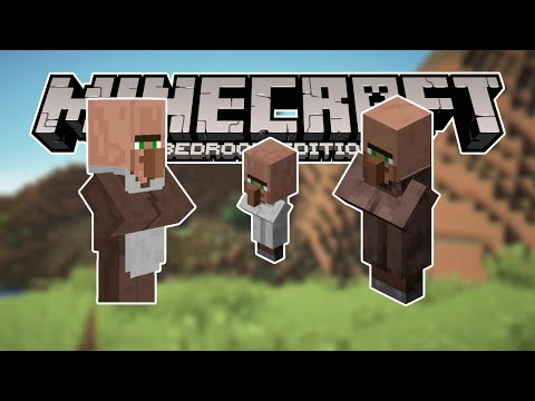 Minecraft Bedrock Simple Auto Villager Breeder