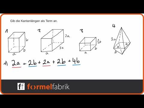 Terme aufstellen: geometrische Figuren – Training (Nr. 5) from YouTube · Duration:  5 minutes 19 seconds