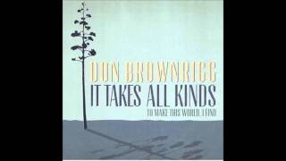 Don Brownrigg - How Are You Supposed to Know