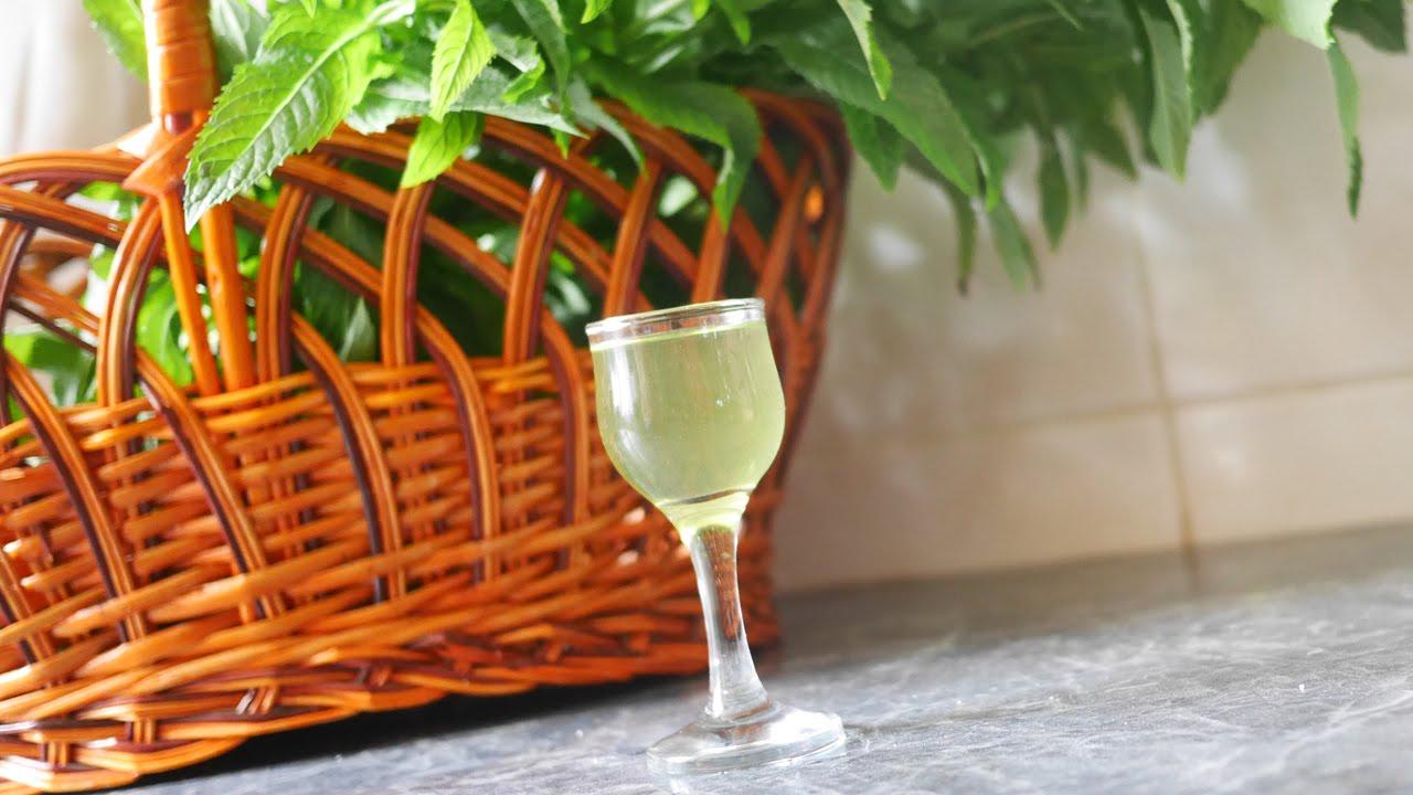 рецепт мятной водки или ликёра