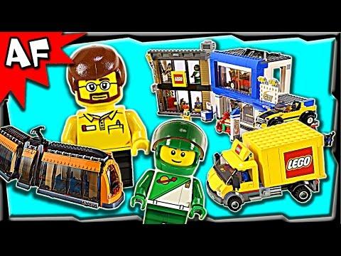 Lego CITY SQUARE 60097 Stop Motion Build Review