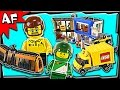 Lego CITY SQUARE 60097 Stop Motion Build Review