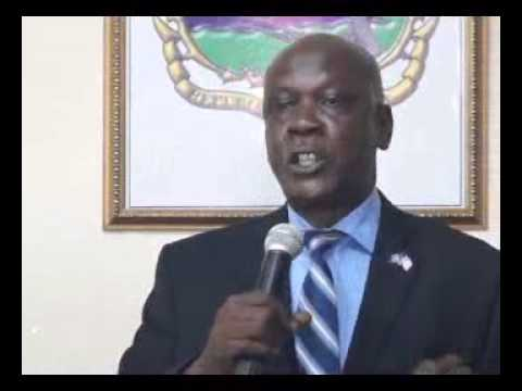 Franklin Cassell: Micat Press Briefing Liberia Water & Sewer Corp.