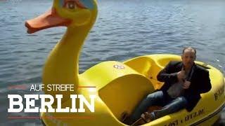 Ungewöhnliches Verbrechen: Täter im Entchen-Boot? | Auf Streife - Berlin | SAT.1 TV