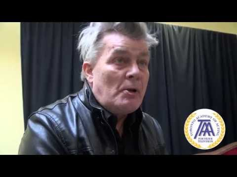 Famous Actor and Filmmaker Nicholas Campbell Suggests Students How to Succeed