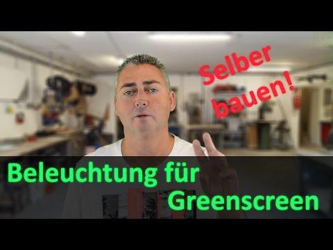 Beleuchtung für Greenscreen selber bauen / Eine Alternative zu Softboxen? | DIY