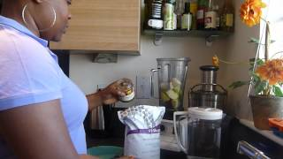 How I Make My Visalus Apple Pie Smoothie