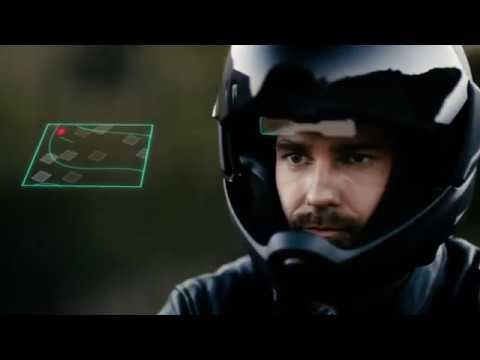 Black CrossHelmet X1 (M1) video thumbnail