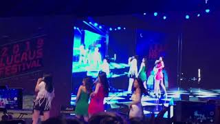 Red Velvet Sing Bad Boy LIVE without backing track!!