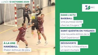 7/8 Sports. Emission du 12 octobre 2020