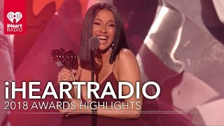 What You Missed From The 2018 iHeartRadio Music Awards