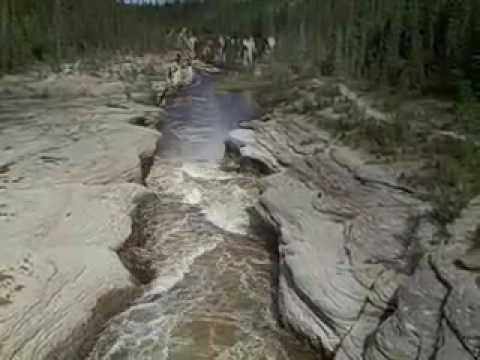 Sambaa Deh Falls, NWT between Hay River and Fort Simpson