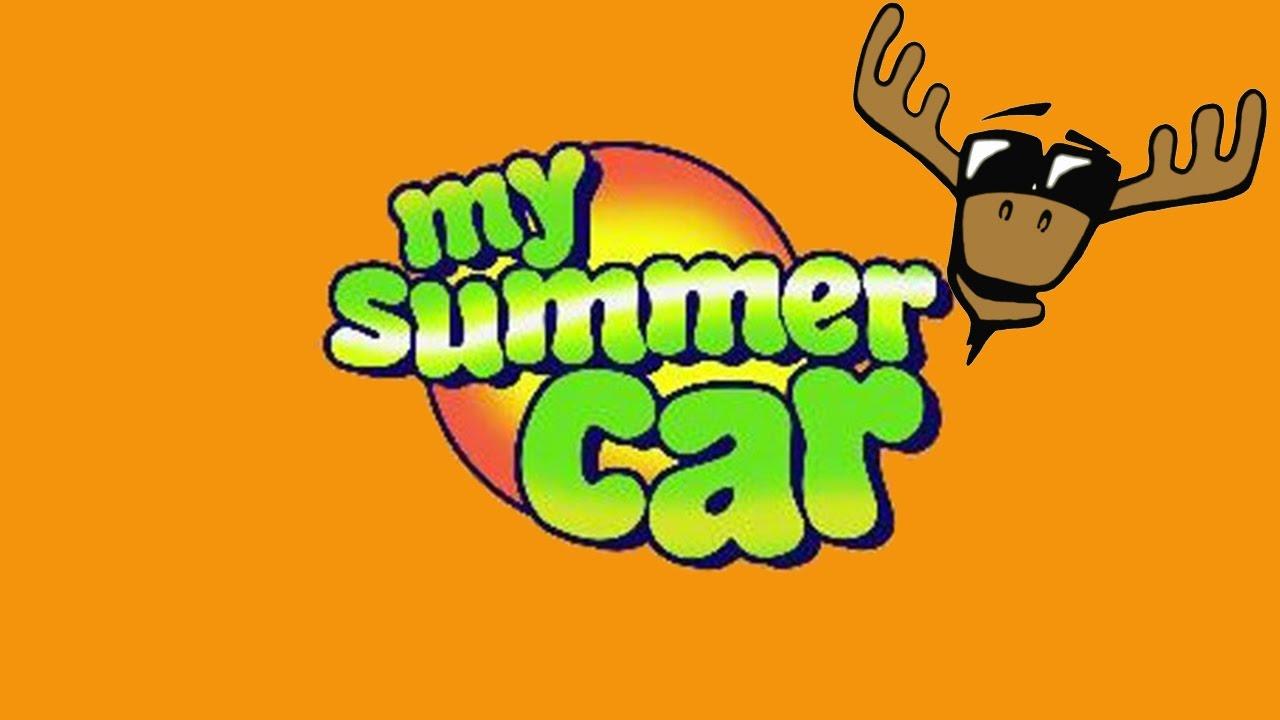Moose next to car