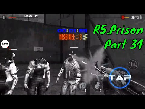mad-zombies-:-offline-zombie-games-r5-prison-part-34-gameplay-walkthrough-(android-ios)
