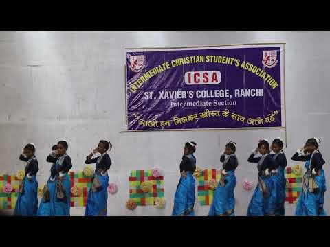 ICSA 2K18 || ST. XAVIER'S COLLEGE RANCHI || KUHU KUHU-DIVINE MELODY || WELCOME DANCE