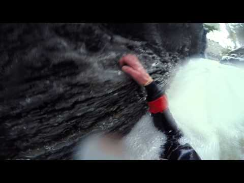 Erie*PA~Near Death Whitewater Kayaking (Micro-Creeking) first descent Belson Creek aka Gages Gulf.