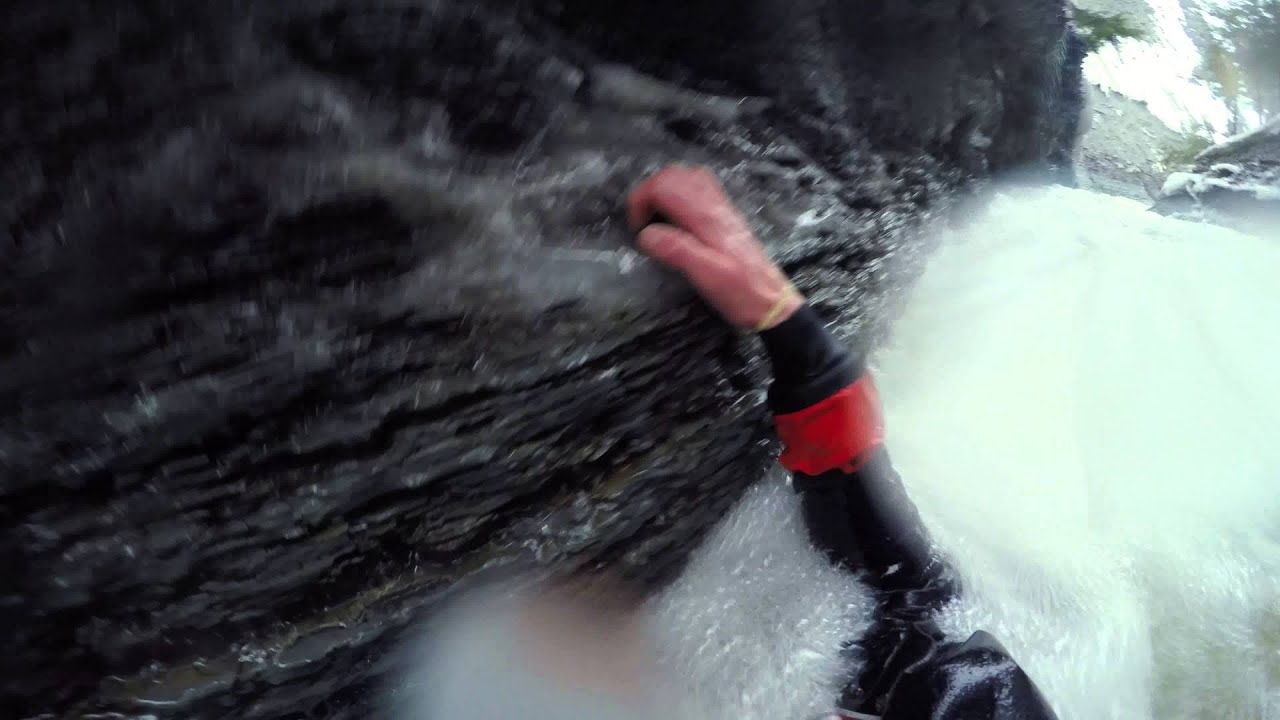 EriePANear Death Whitewater Kayaking Micro Creeking First Descent Belson Creek Aka Gages Gulf