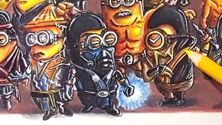 If Minions were Mortal Kombat Characters