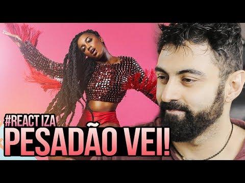 REAGINDO a IZA - Pesadão (Participação especial Marcelo Falcão)