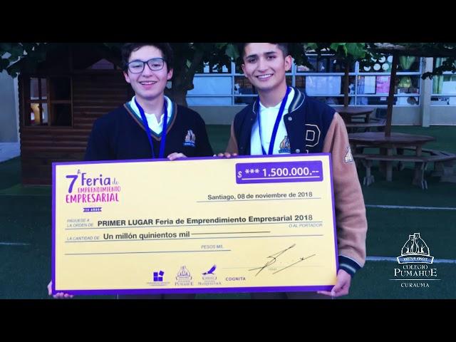 El taller de emprendimiento empresarial para los ex alumnos Ignacio Méndez y Vicente Vivanco