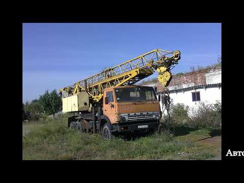 КамАЗ-53213 Башенный кран АБКС-6