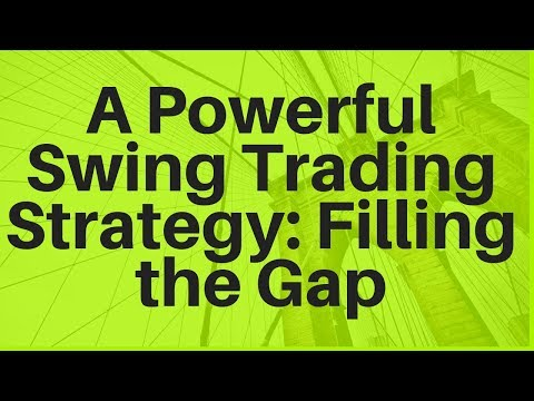 A Powerful Swing Trading Strategy: Filling the Gap
