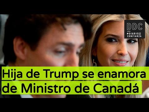 Hija de Trump se enamora del Ministro de Canada
