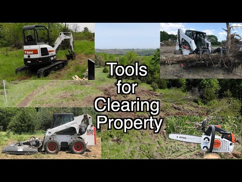Tools & Equipment Used For Clearing Land