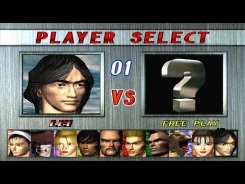Tekken 2 - Lei Playthrough (PSX) - YouTube