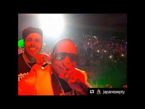 Nicky Jam sorprende a sus fans en Panamá  y comparte tarima con Japanese