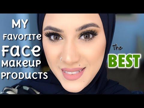 My favorite face makeup products 2019 | مفضلاتي ف الميك اب ( منتجات البشرة ) الجزء الاول thumbnail