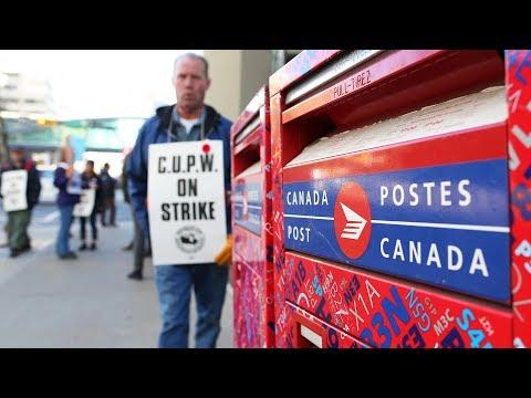 Rotating postal strike hits Calgary