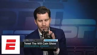Will Cain Its ridiculous to say peak Anthony Davis is 2nd best PF ever  Will Cain Show  ESPN