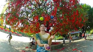 24 Simple 3 Ball Juggling Tricks in China