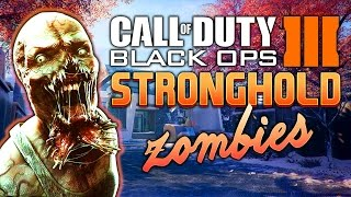 BLACK OPS 3 ★ STRONGHOLD ZOMBIES - Part 2 (Custom Mod)
