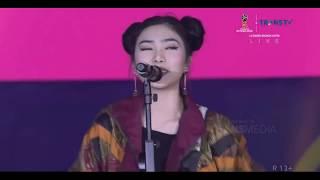 Konser Final Piala Dunia 2018 Isyana Sarasvati Pesta