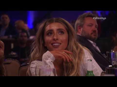 Jenn McAllister and Logan Paul Present Actor - Streamy Awards 2016
