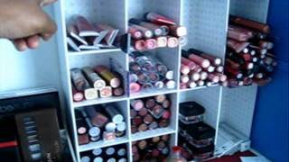 SaandyieG's Updated Makeup Room Tour/Makeup Storage Part 1