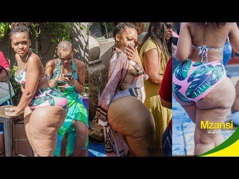 BBW pool party twerk in mzansi thumbnail