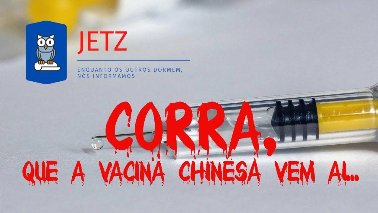 Jetz - Vacina chinesa já está no Brasil! Esperança ou ameaça?