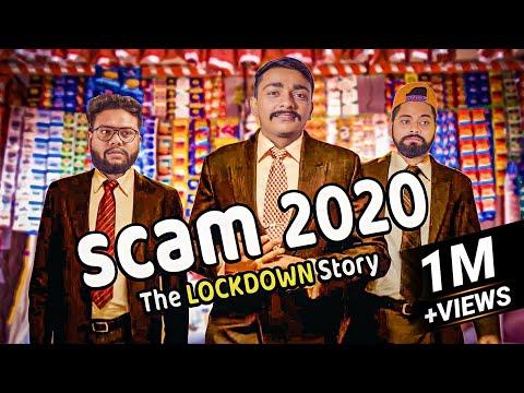 SCAM 1992 SPOOF | Harshad Mehta Parody | Amdavadi Man | Scam 2020 The Lockdown Story