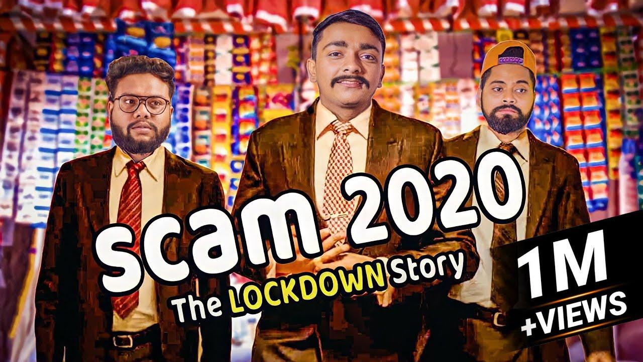 Download SCAM 1992 SPOOF   Harshad Mehta Parody   Amdavadi Man   Scam 2020 The Lockdown Story
